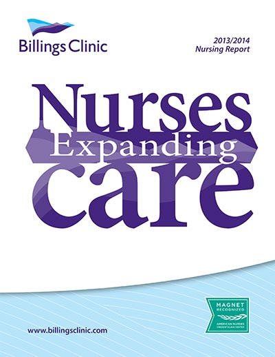 Billings Clinic Nursing Annual Report 2013-14