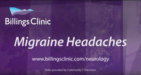 Migraine Headache information - Community Seven interview with Billings Clinic Neurologist Dennis O' Brien, MD