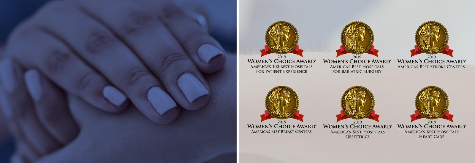 Recognized by Women's Choice as a Top 100 Hospital