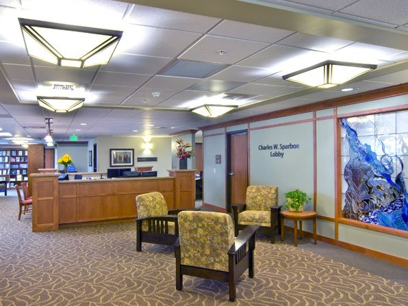 Billings Clinic Cancer Center Check-in Desk