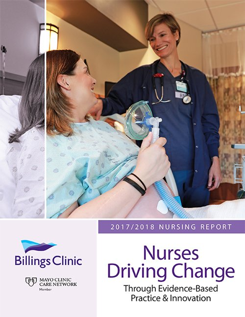 Billings Clinic Nursing Annual Report 2017-18