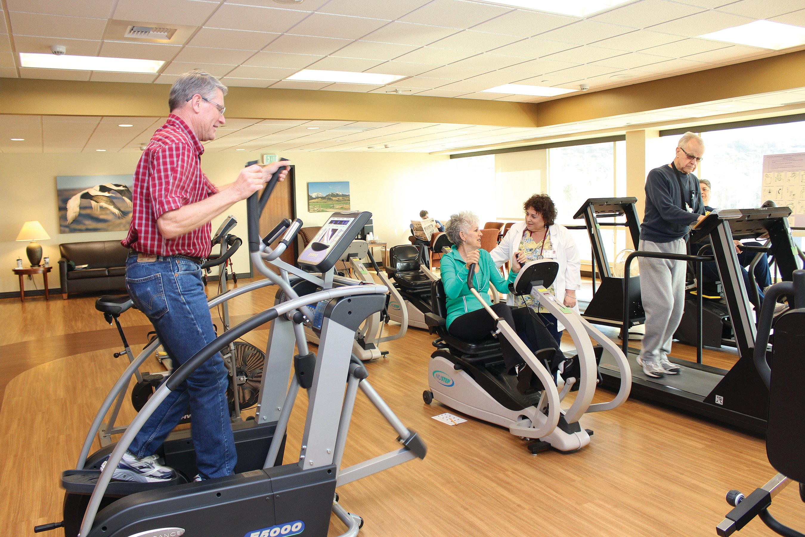 Fitness in the Cardiac Rehab-LifeFit area