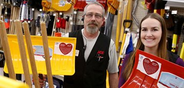 Avoid a heart attack: Shovels sold in Billings-area hardware stores warn about symptoms