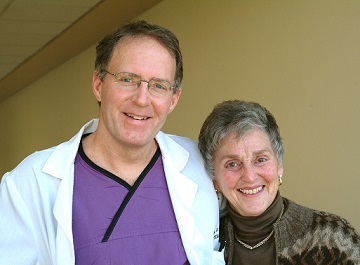Kay Will and Dr. Gregory - Donor