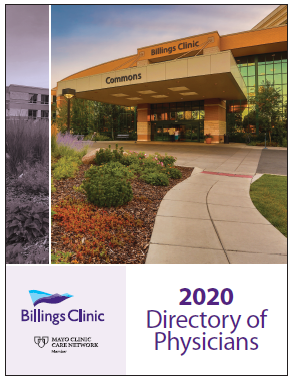 2020 Billings Clinic Physician Directory