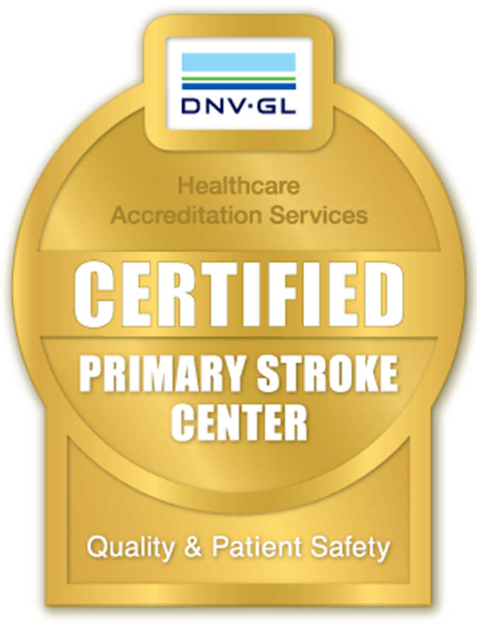 DNV-GL Certified Primary Stroke Center