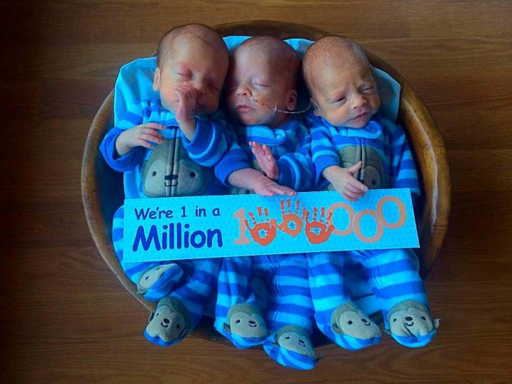 Family Birth Center Kinsey triplets