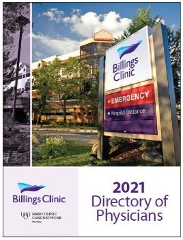 2021 Billings Clinic Physician Directory