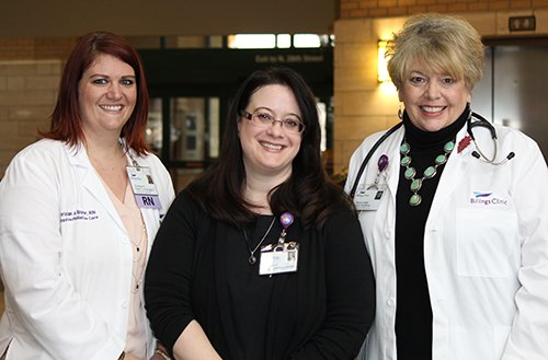 Billings Clinic Cancer Center Supportive Care Team