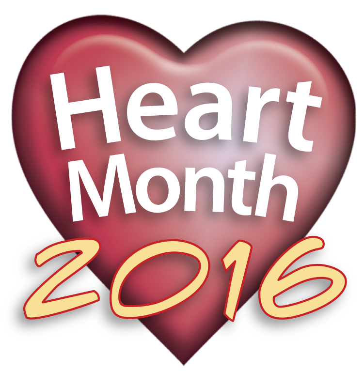 Heart Month 2016 graphic