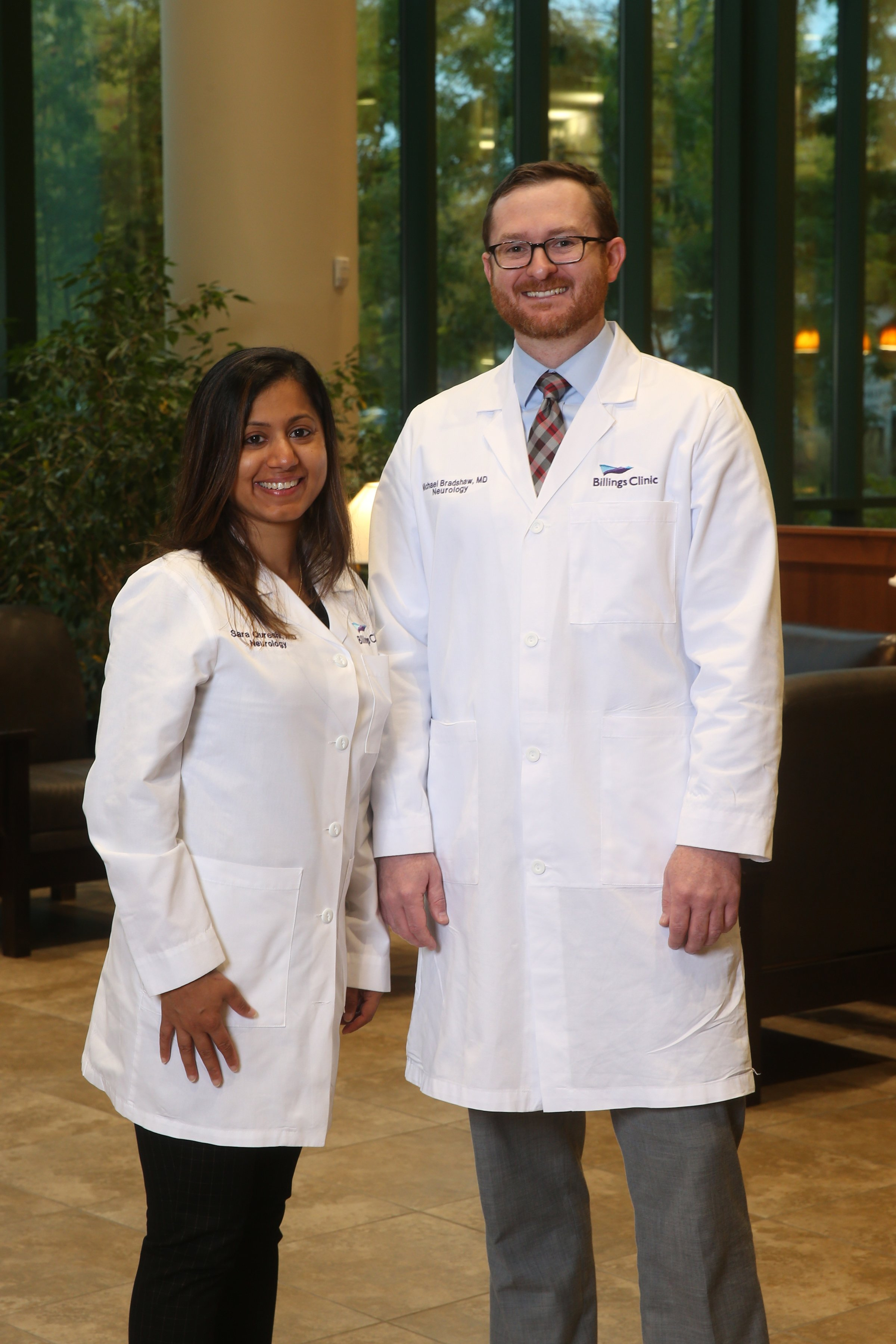 Drs. Qureshi and Bradshaw