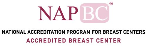 Accredited Breast Center by the National Accreditation Program for Breast Centers