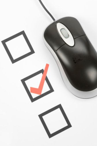 Computer Mouse and online form