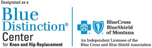 Blue Distinction Center for Knee and Hip Replacement by Blue Cross Blue Shield
